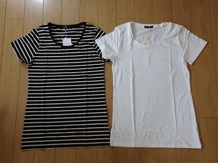 リアルキューブのコットンモダールTシャツ