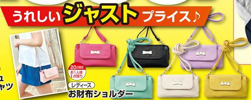 お財布ショルダー900円