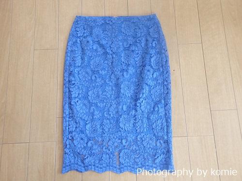 guレースタイトスカート