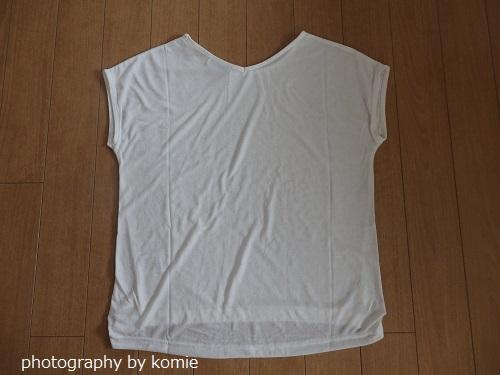 しまむら白Tシャツバッグデザイン